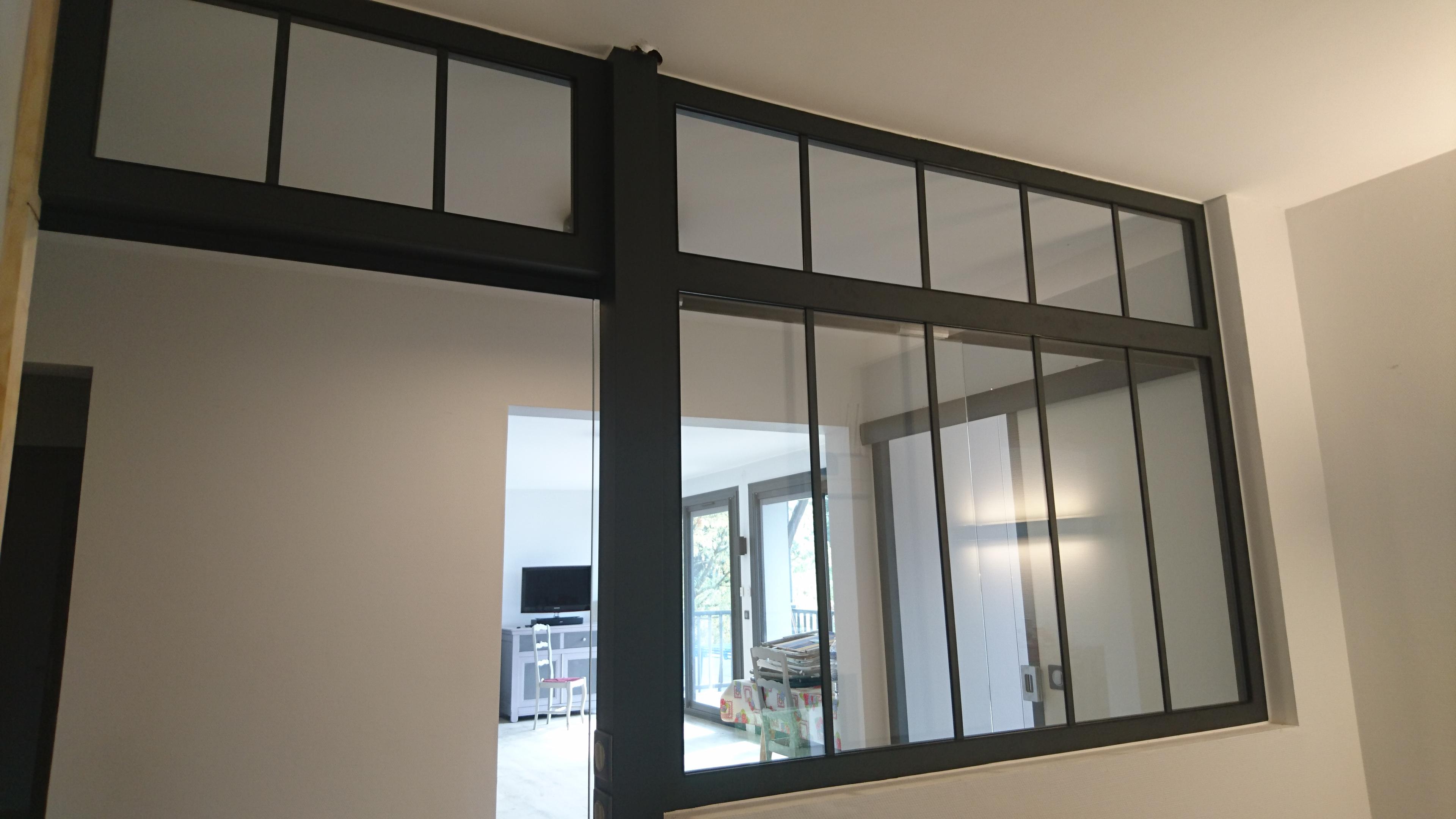 moderniser une porte int rieure vitr e. Black Bedroom Furniture Sets. Home Design Ideas